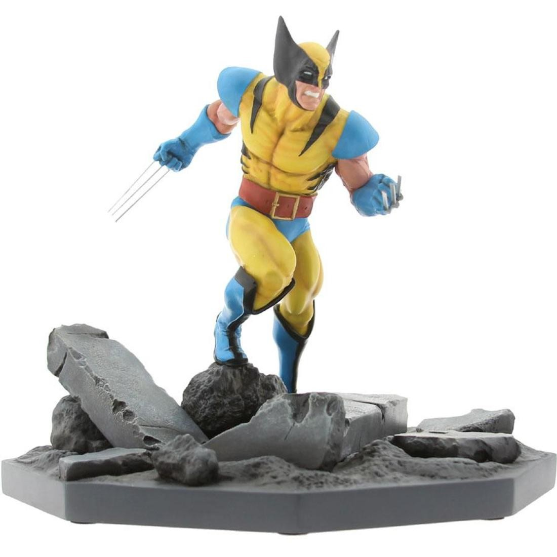 BAIT x Marvel Wolverine Statue By MINDstyle (yellow) only 500 made bust avenger
